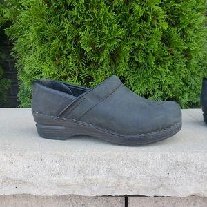 Sanita Danish Clogs Black Size 38